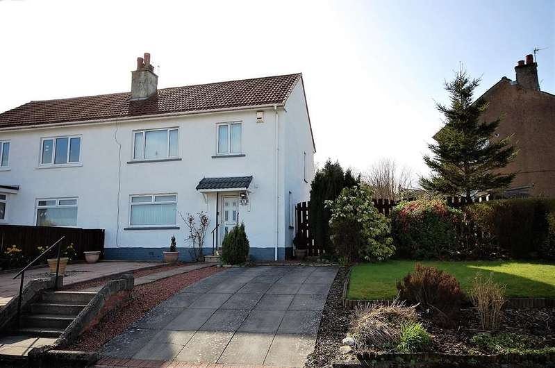 3 Bedrooms Semi Detached House for sale in Ivanhoe Road, Paisley PA2 0LA
