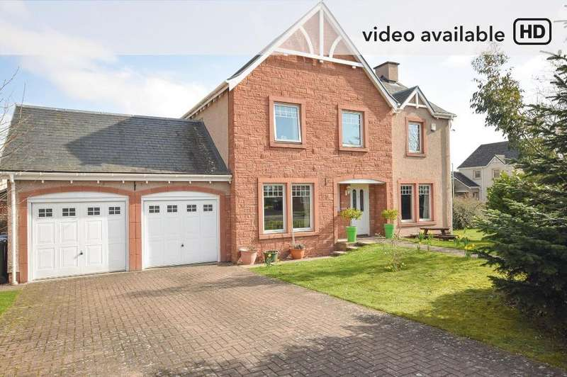 4 Bedrooms Detached House for sale in Orchard Way, Inchture, Perth, PH14 9QB