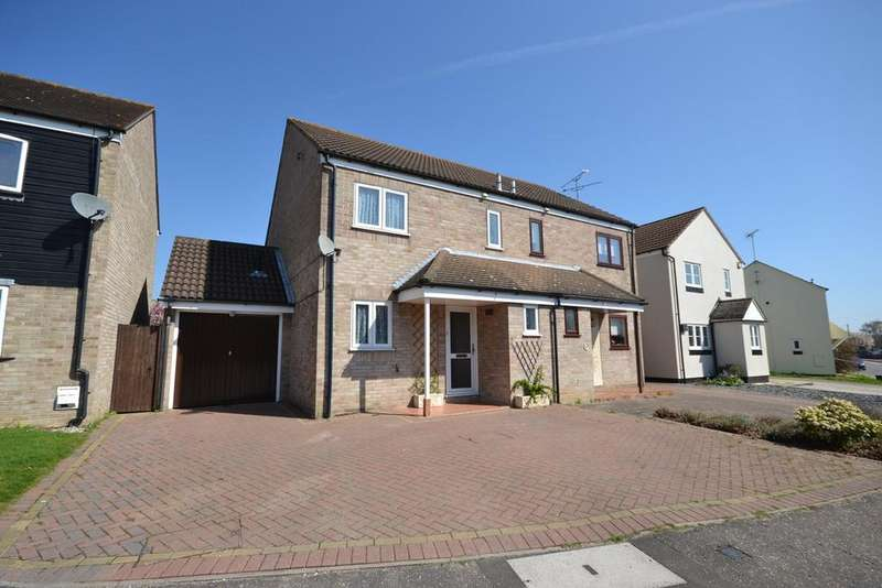 3 Bedrooms Semi Detached House for sale in Midguard Way, Maldon, CM9