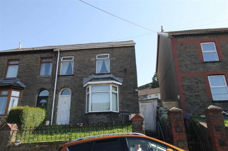 2 Bedrooms Semi Detached House for sale in Amos Hill, Tonypandy