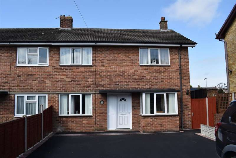 3 Bedrooms Detached House for sale in Belvoir Crescent, Newhall, Swadlincote
