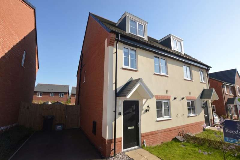 3 Bedrooms Semi Detached House for sale in James Clarke Road, Winsford, CW7
