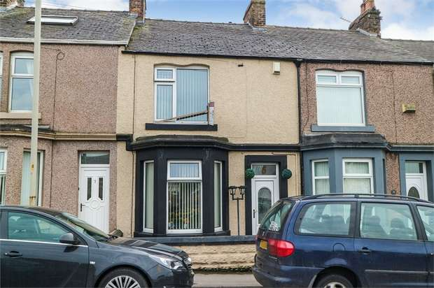 3 Bedrooms Terraced House for sale in Elizabeth Terrace, Maryport, Cumbria