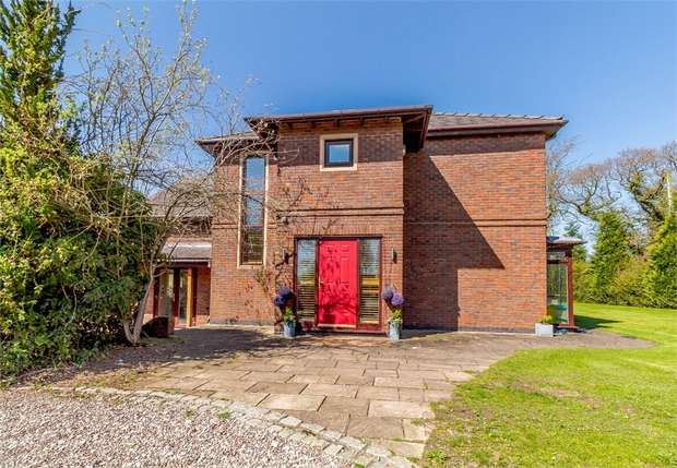 5 Bedrooms Detached House for sale in School Lane, Higher Whitley, Warrington, Cheshire