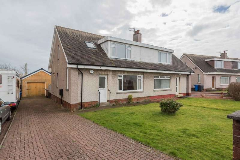 3 Bedrooms Detached House for sale in John Brogan Place, Stevenston, KA20 3ED
