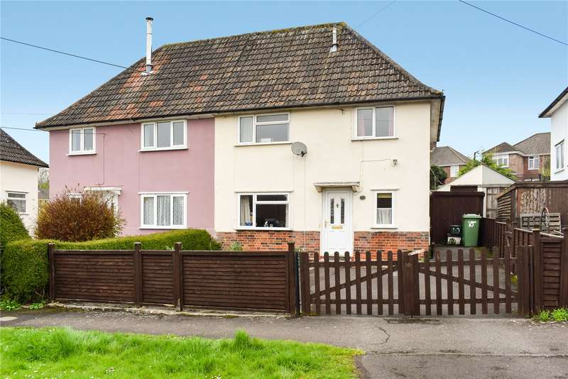 2 Bedrooms Semi Detached House for sale in Everett Close, Wells, Somerset, BA5