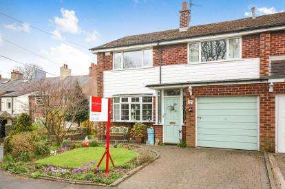 3 Bedrooms Semi Detached House for sale in Catterwood Drive, Compstall, Marple, Stockport