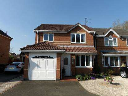 3 Bedrooms Detached House for sale in Kingfisher Road, Mountsorrel, Loughborough, Leicestershire