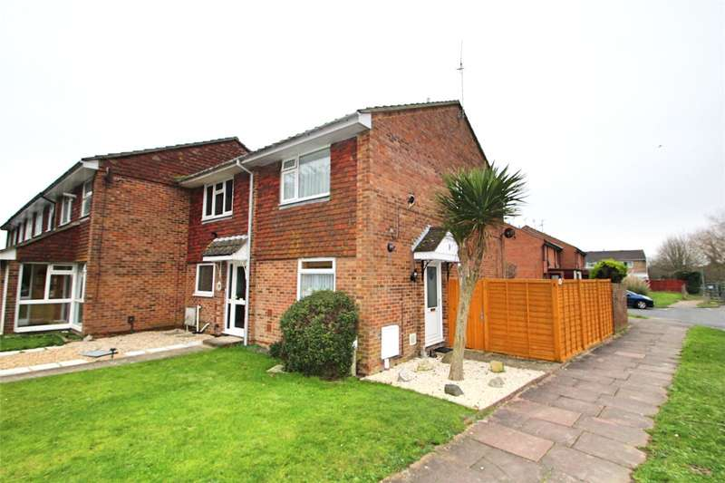 2 Bedrooms End Of Terrace House for sale in Poplar Road, Worthing, West Sussex, BN13
