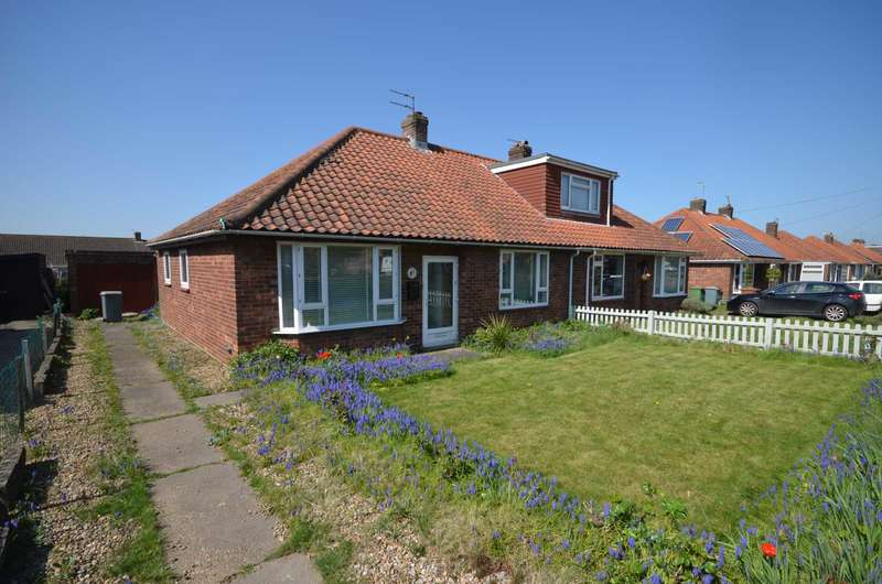 3 Bedrooms Semi Detached Bungalow for sale in Sprowston, Norwich