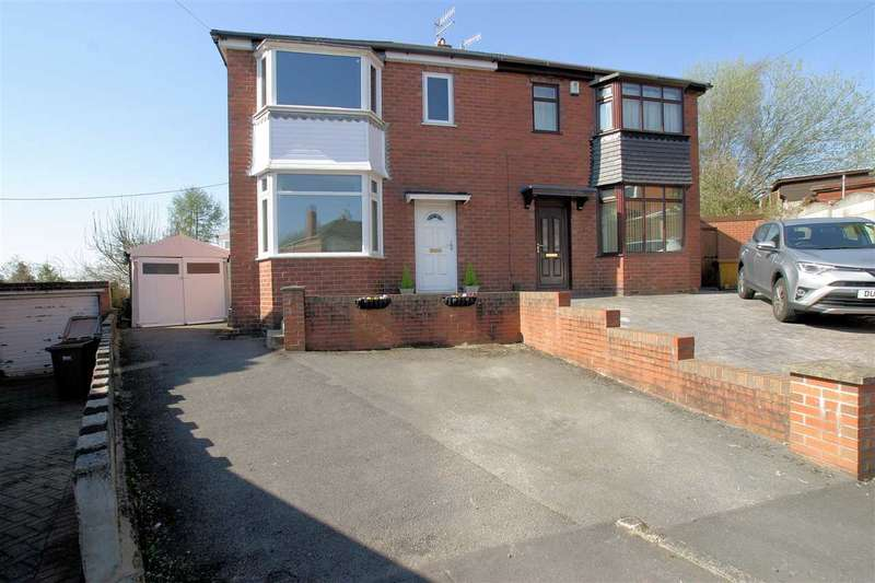 3 Bedrooms Semi Detached House for sale in Louise Drive, Blurton, Stoke on Trent