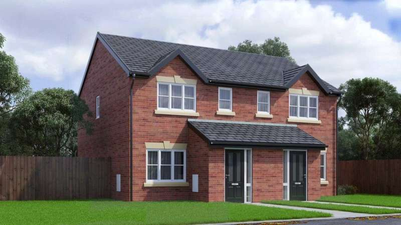 3 Bedrooms Semi Detached House for sale in Hough Fold Way, Harwood