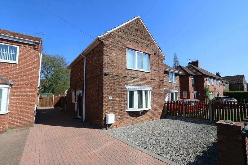 2 Bedrooms Semi Detached House for sale in Mansfield Crescent, Armthorpe, DONCASTER, Yorkshire, DN3 2AA
