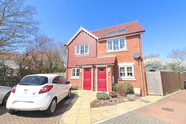 2 Bedrooms Semi Detached House for sale in Carrington Place, Hailsham, BN27