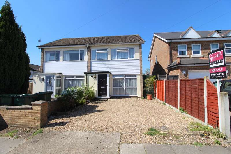 3 Bedrooms Semi Detached House for sale in Hughes Road, Ashford, TW15