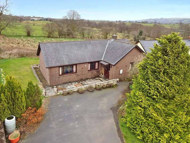 3 Bedrooms Detached Bungalow for sale in Erw Haf, Llanwrtyd Wells, Powys