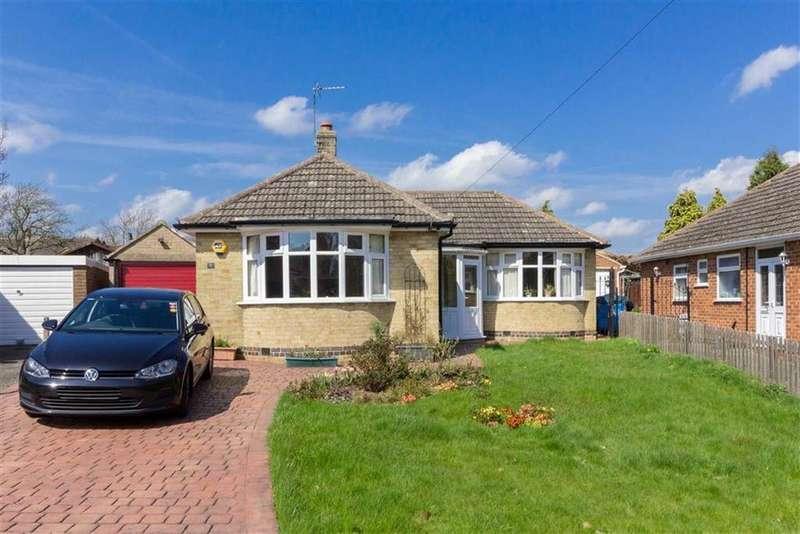 3 Bedrooms Detached Bungalow for sale in Hambledon Crescent, Loughborough, LE11