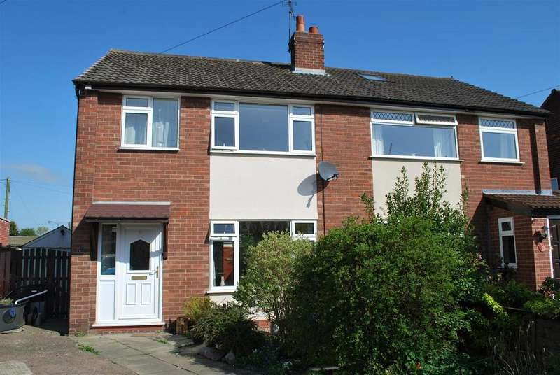 3 Bedrooms Semi Detached House for sale in Brookside Road, Frodsham
