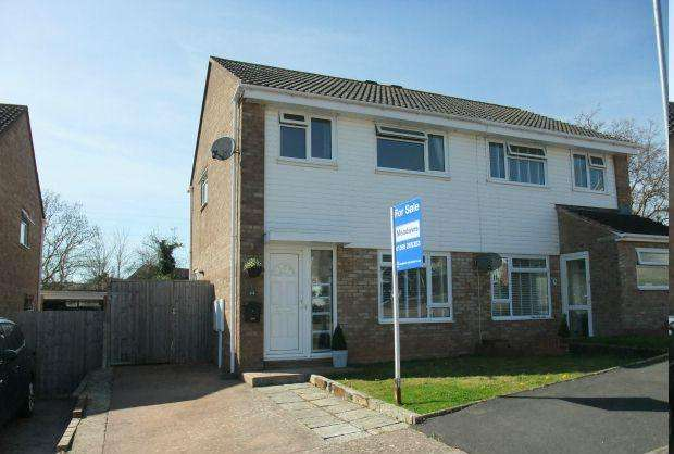 3 Bedrooms Semi Detached House for sale in Hollymount Close, EXMOUTH