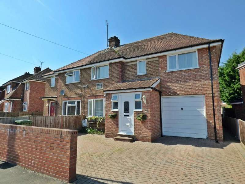 4 Bedrooms Semi Detached House for sale in Hinton Crescent, Hinton, Hereford