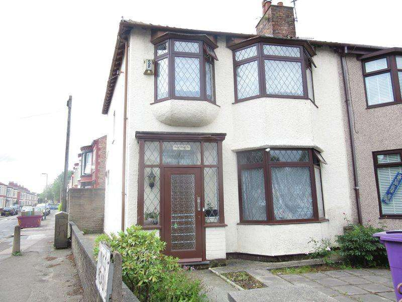 3 Bedrooms End Of Terrace House for sale in Queens Drive, Liverpool, L13 0AS