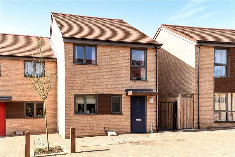 2 Bedrooms Semi Detached House for sale in Knot Tiers Mews, Upton, Northampton, Northamptonshire