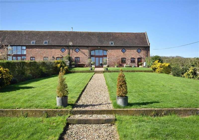 4 Bedrooms Barn Conversion Character Property for sale in Church Barn, Glazeley, Bridgnorth, Shropshire, WV16