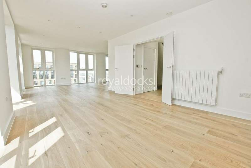 3 Bedrooms Penthouse Flat for sale in Royal Arsenal Riverside, Woolwich, London, SE18