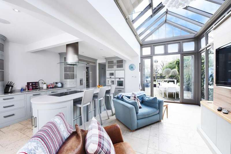 5 Bedrooms End Of Terrace House for sale in Tetherdown, Muswell Hill