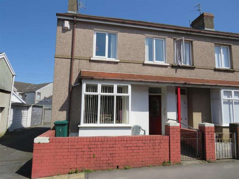 3 Bedrooms End Of Terrace House for sale in Upper William Street, Llanelli