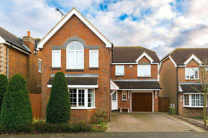 4 Bedrooms Detached House for sale in Nimrod Close, St. Albans, Hertfordshire
