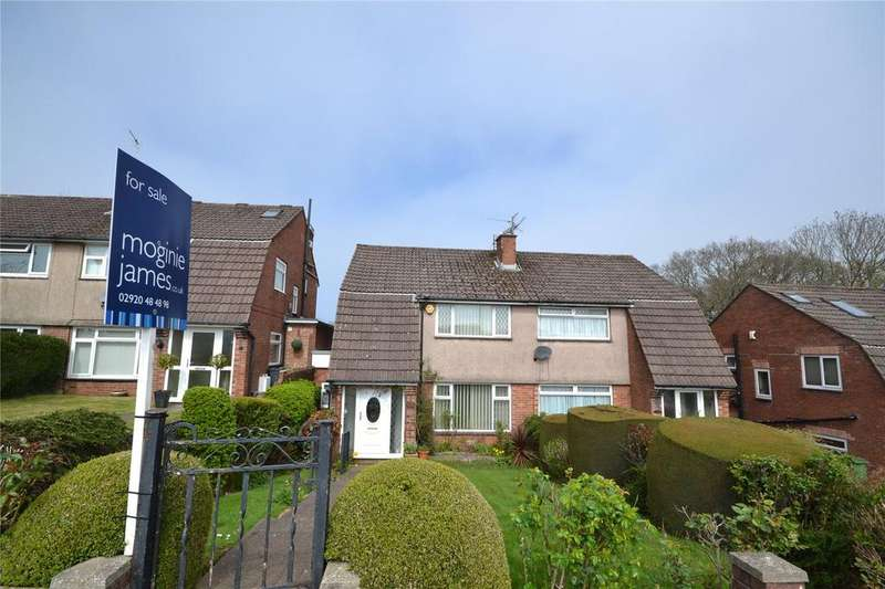 4 Bedrooms Semi Detached House for sale in Llanedeyrn Road, Penylan, Cardiff, CF23