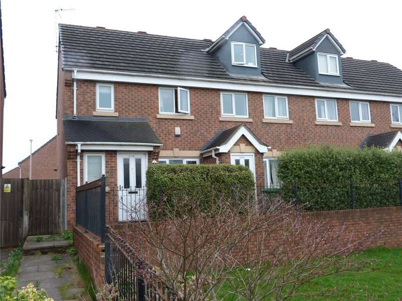 3 Bedrooms Terraced House for sale in Gresty Road, Crewe, Cheshire, CW2