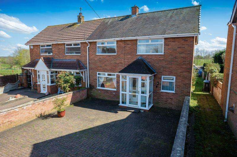 2 Bedrooms Semi Detached House for sale in Oak Road, Brewood, Stafford