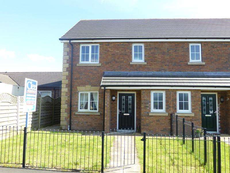 3 Bedrooms Semi Detached House for sale in Cysgod Y Gors , Gorslas, Llanelli, Carmarthenshire.