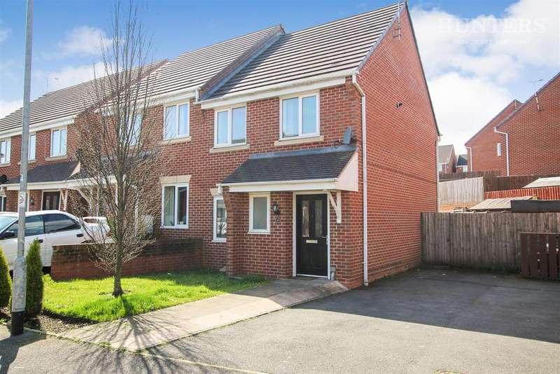 2 Bedrooms Semi Detached House for sale in Lynn Street, Weston Coyney, ST3 6FD