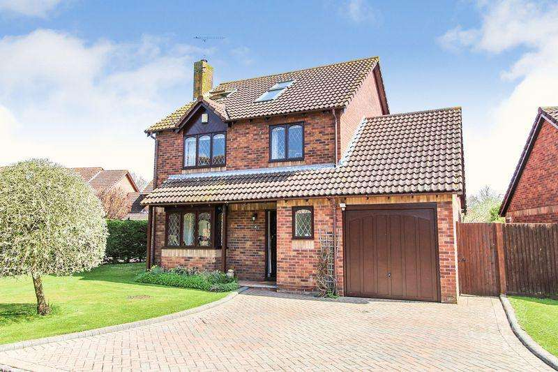 5 Bedrooms Detached House for sale in Heardman Close, Thatcham
