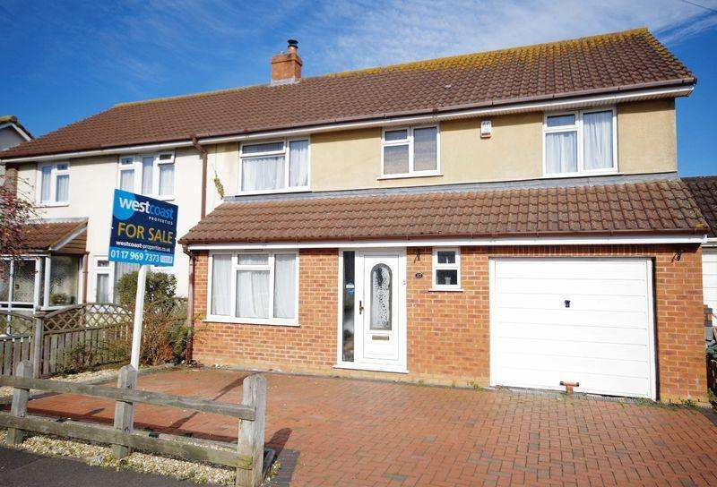 4 Bedrooms Semi Detached House for sale in Amberley Road, Stoke Lodge, Bristol