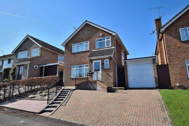 3 Bedrooms Semi Detached House for sale in Mentmore Crescent, South West Dunstable