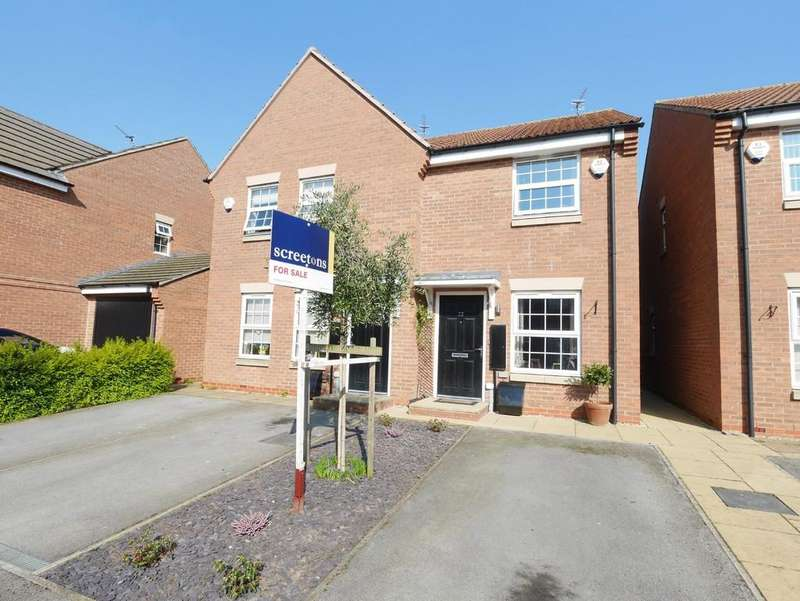 2 Bedrooms Semi Detached House for sale in Carter Street Howden