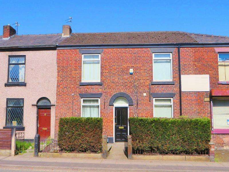 3 Bedrooms Terraced House for sale in Water Street, Radcliffe M26 4BE