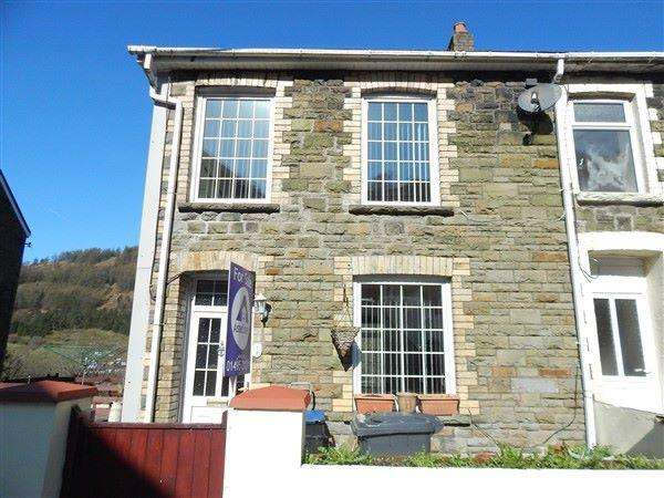 2 Bedrooms End Of Terrace House for sale in Spring Cottage, Cwmtillery, NP13 1JW
