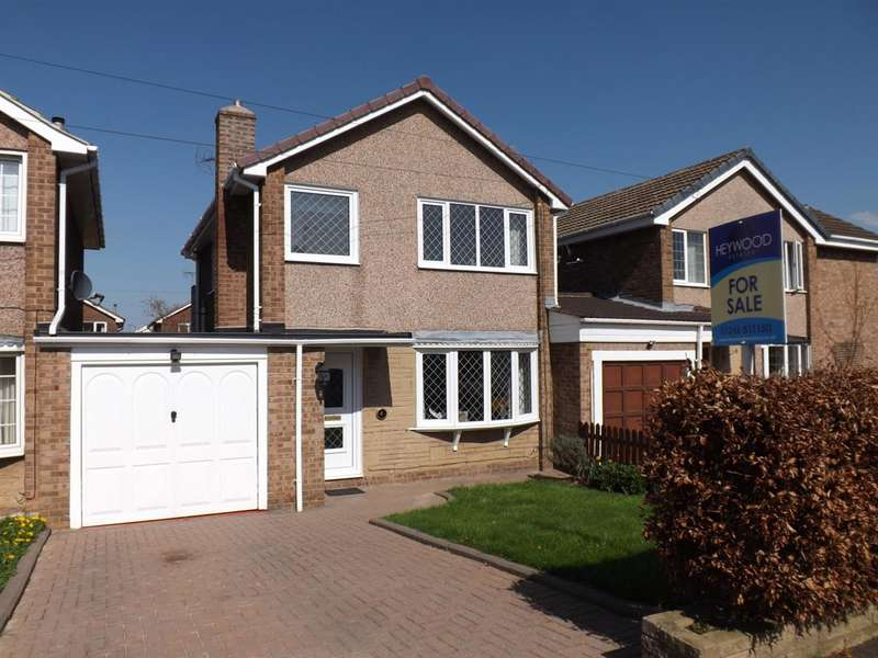 3 Bedrooms Detached House for sale in Southfields, Clowne, Chesterfield