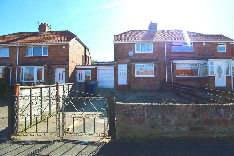 2 Bedrooms Semi Detached House for rent in Woodside Gardens, Gateshead, NE11
