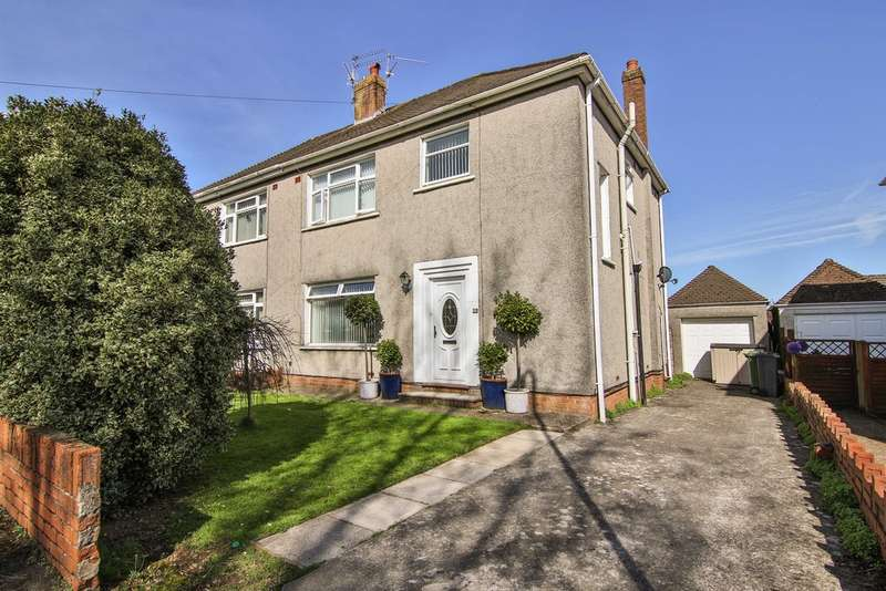 3 Bedrooms Semi Detached House for sale in Heol Tyn Y Coed, Cardiff