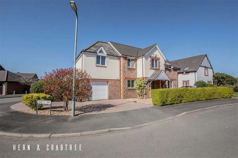 4 Bedrooms Detached House for sale in Clos Y Gof, St Fagans, Cardiff