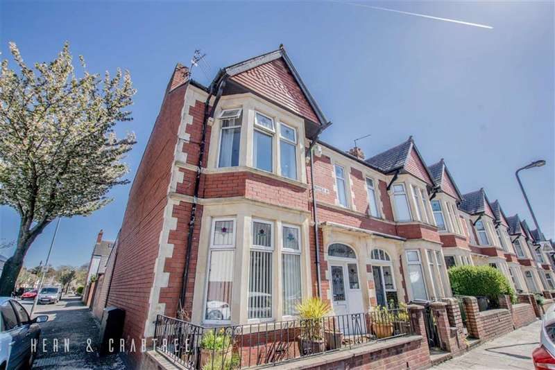 3 Bedrooms End Of Terrace House for sale in Mayfield Avenue, Victoria Park, Cardiff