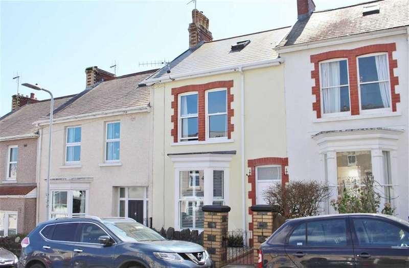 4 Bedrooms Terraced House for sale in Victoria Avenue, Mumbles