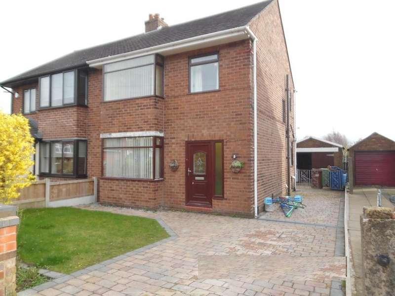 3 Bedrooms Semi Detached House for rent in Willard Avenue, Billinge, Wigan, WN5 7DE