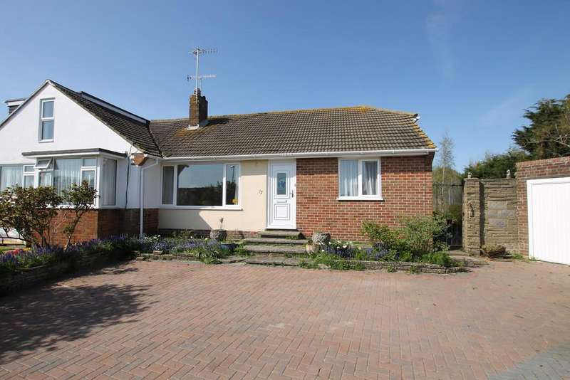 2 Bedrooms Semi Detached Bungalow for sale in Wiston Close, Worthing BN14 7PU